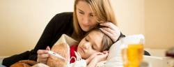 Five tips for mums: how to help a young child with a sore throat