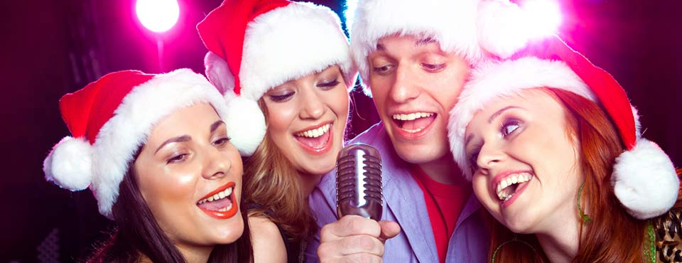 how to gargle with the betadine christmas carollers - Christmas Carollers