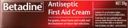 Antiseptic First Aid Cream